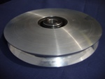 New complete Aluminium Pulley for use with synthetic cables