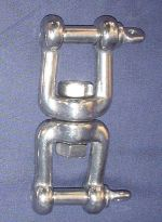 Stainless steel jaw/jaw swivel