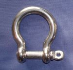 Stainless steel 10mm bow D shackle