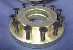 Plastic Pulley Steel Centre Hub (each)